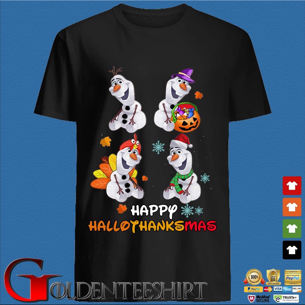 Disney Olaf Happy Hallothanksmas shirt