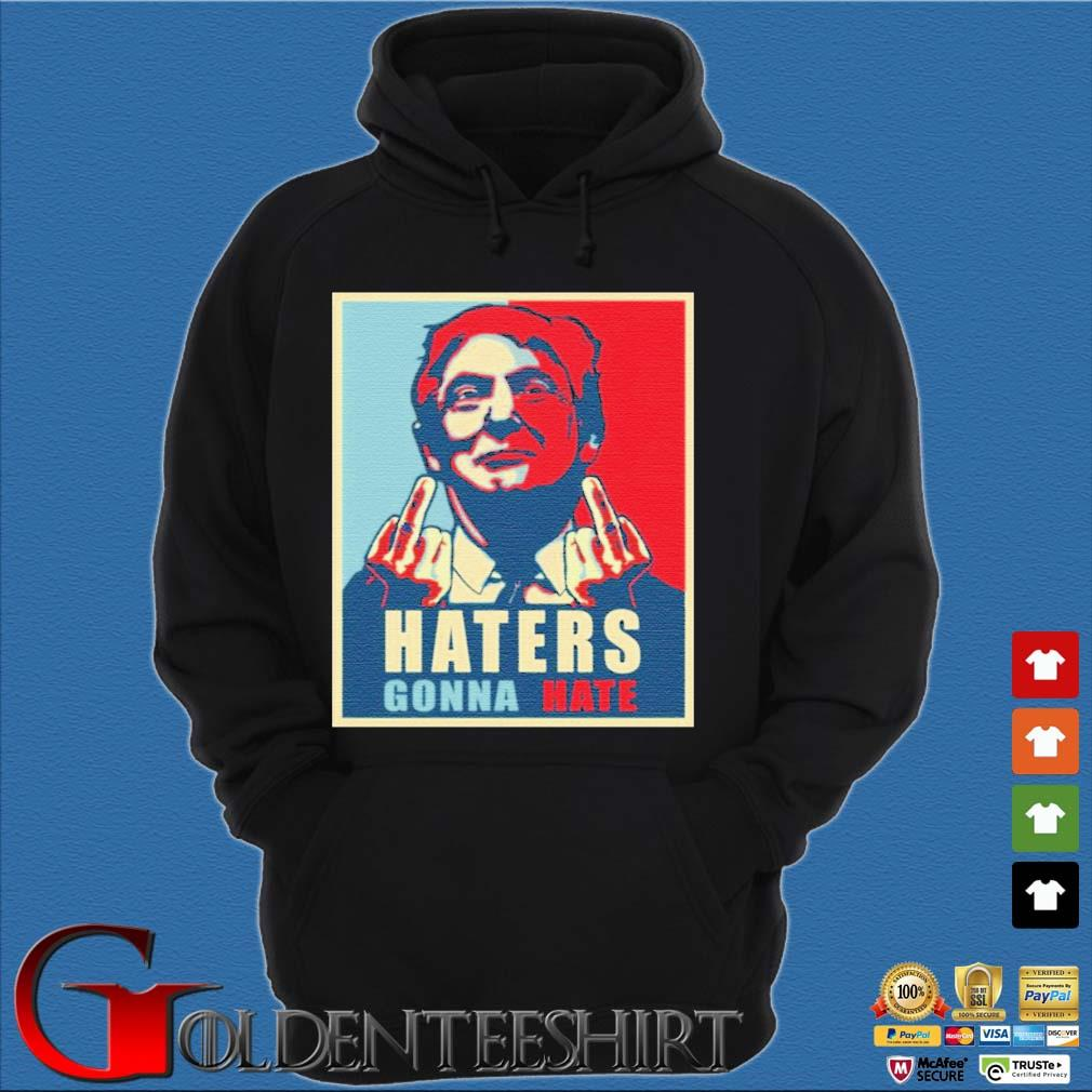 Donald Trump Haters Gonna Hate Trump President Shirt Hoodie đen