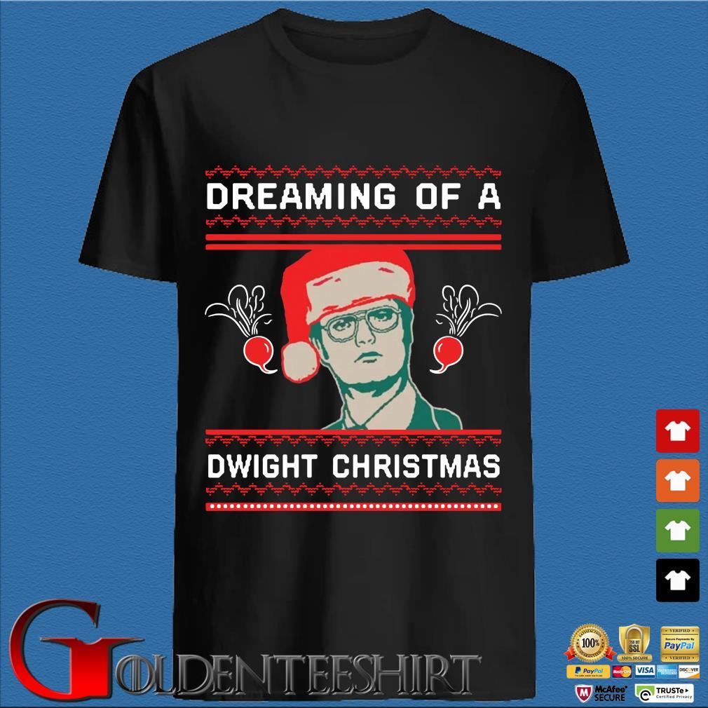 Dreaming Of A Dwight Christmas Sweatshirt
