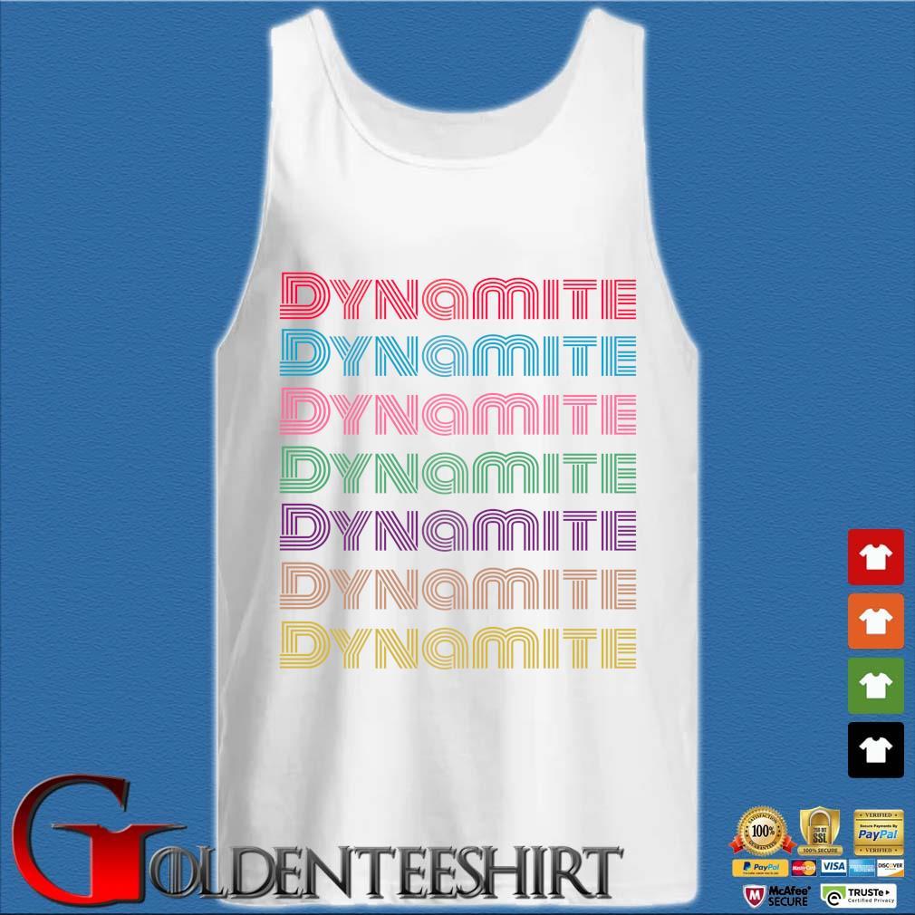Dynamite Disco s Tank top trắng