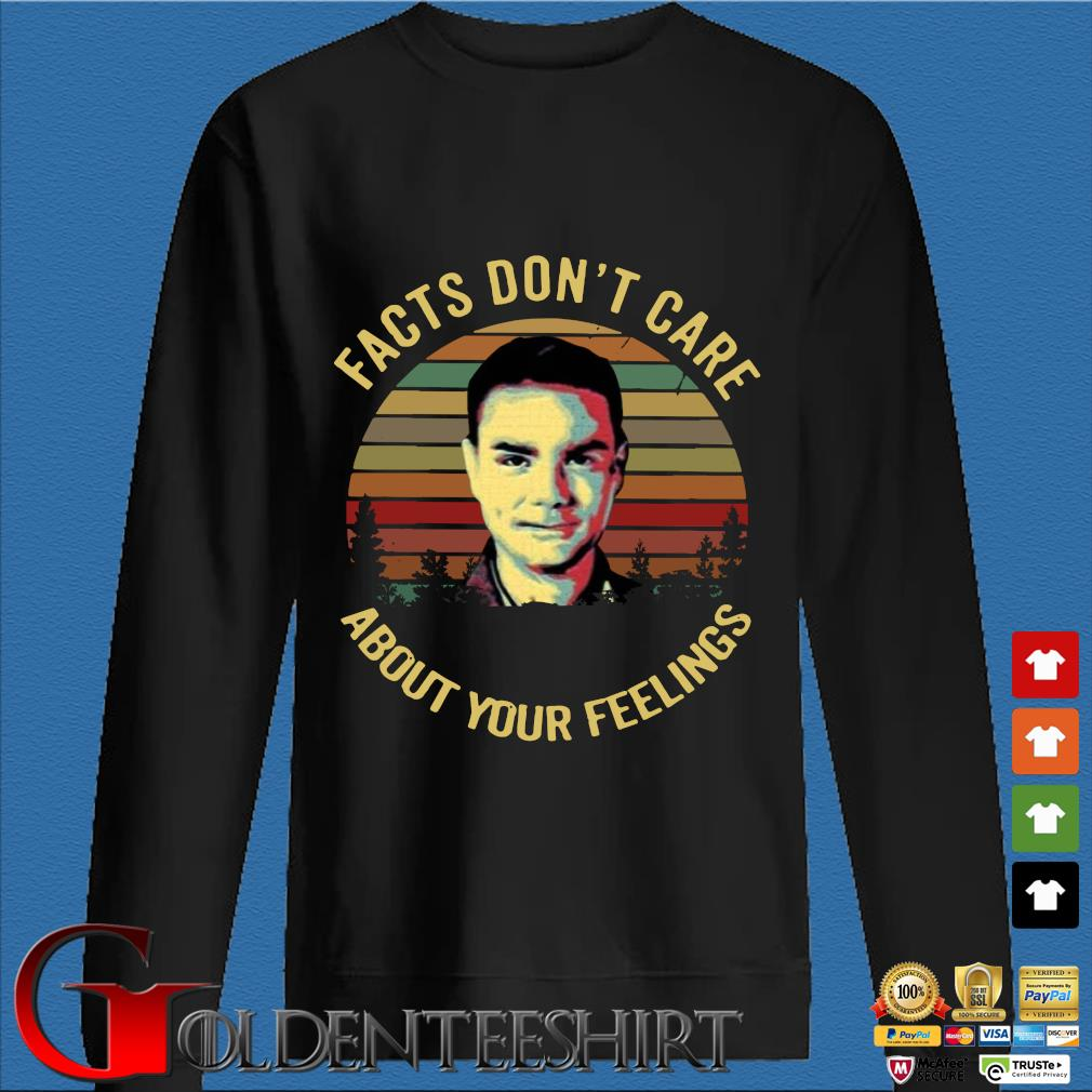 Facts Don't Care About Your Feelings Ben Shapiro Vintage Shirt Den Sweater