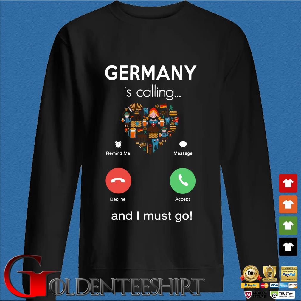 Germany is calling and I must go s Den Sweater