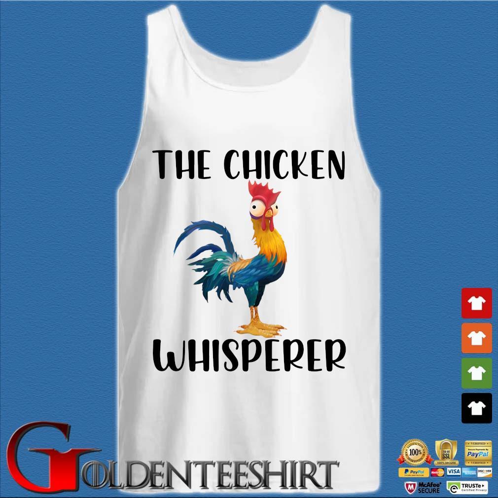 Hei Hei The chicken whisperer s Tank top trắng