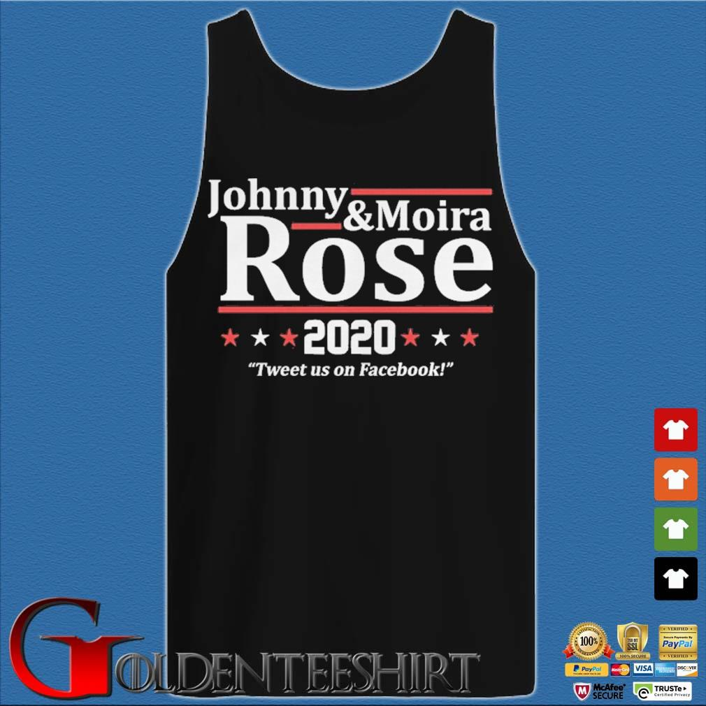 Johnny and Moira Rose 2020 tweet us on Facebook s Tank top den
