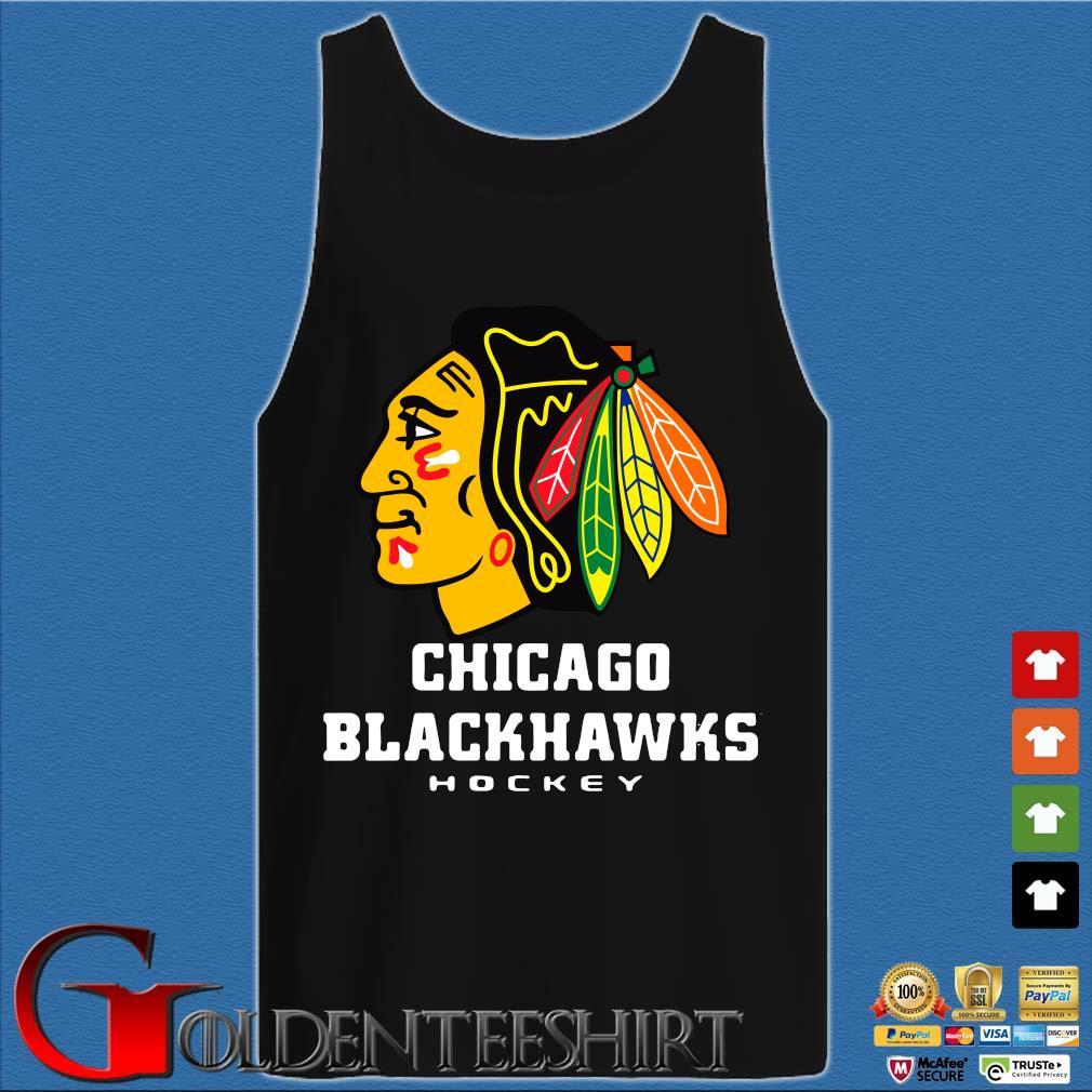 Logo NHL Chicago Blackhawks Hockey Shirt Tank top den