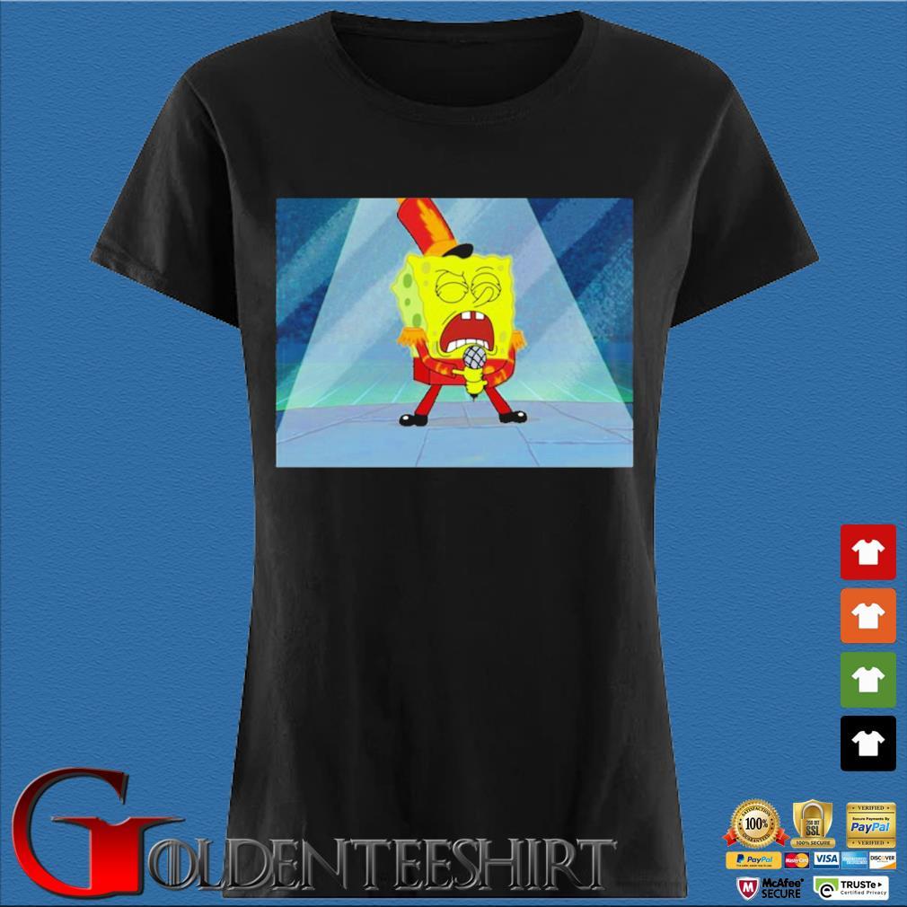 Max Fried Spongebob Squarepants Shirt Den Ladies