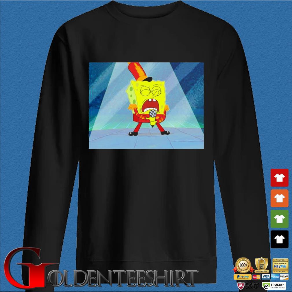 Max Fried Spongebob Squarepants Shirt Den Sweater