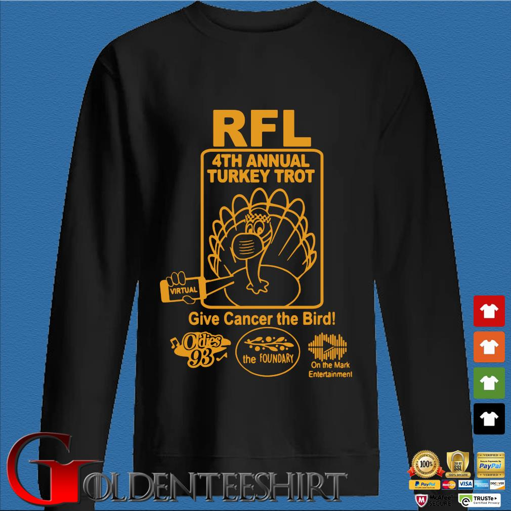 RFl 4th annual Turkey Trot give cancer the birth s Den Sweater
