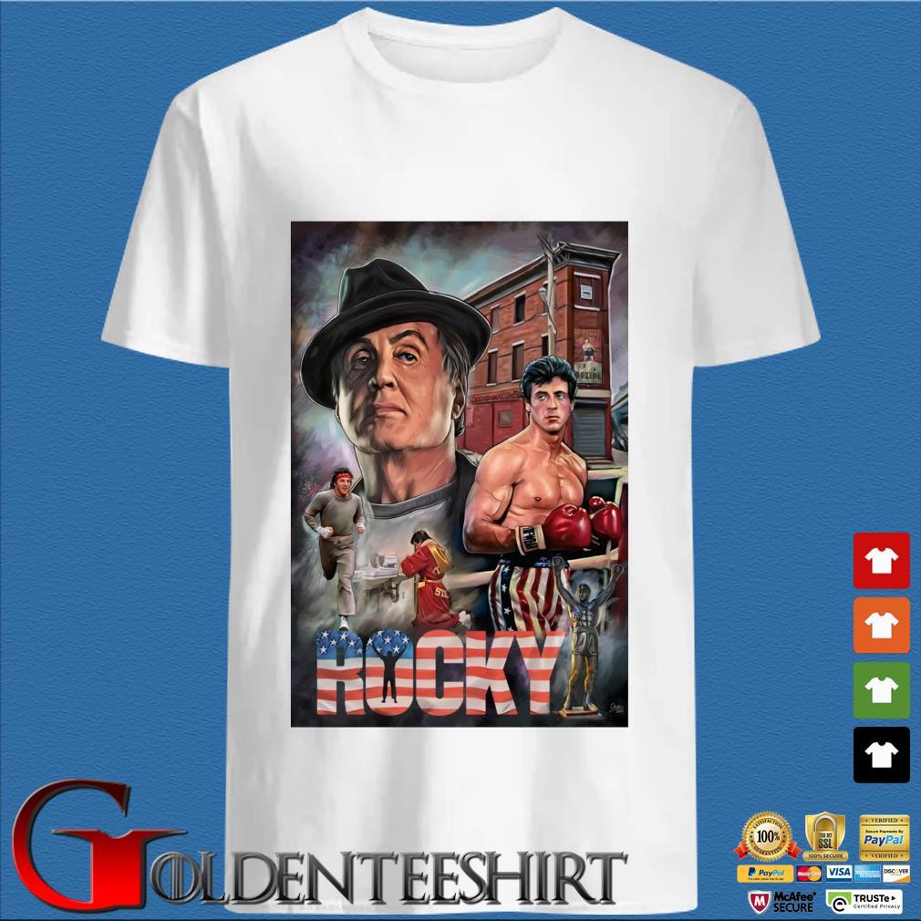 Rocky Balboa America shirt