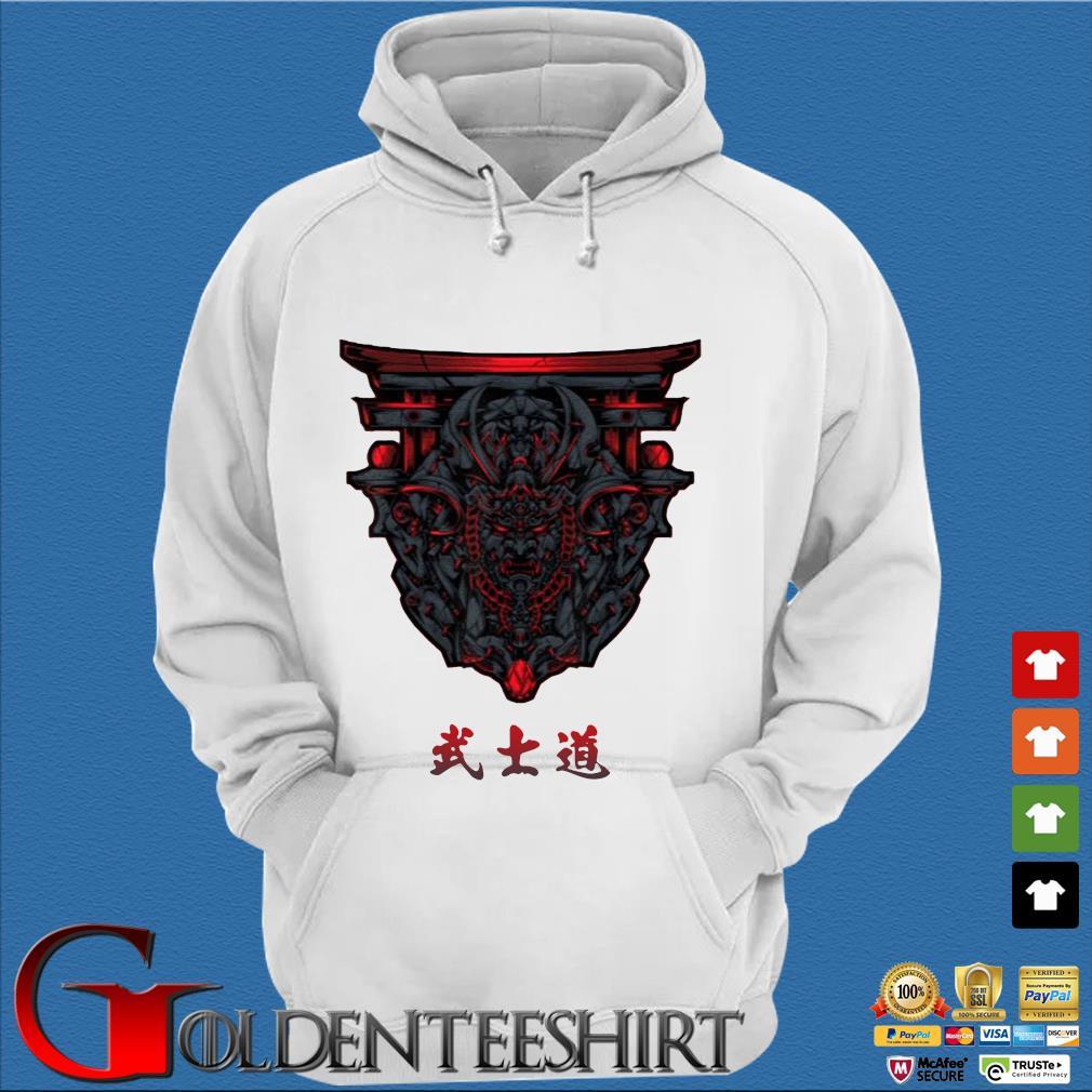 Samurai Bushido With Torii Shirt Trang Hoodie