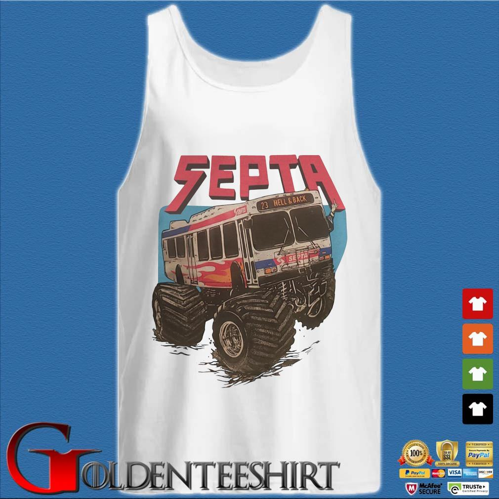 Septa 23 hell and back s Tank top trắng