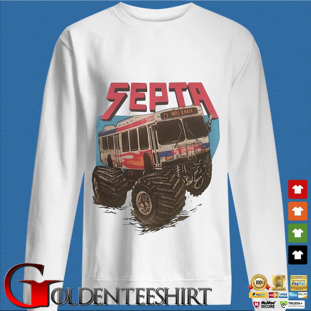 Septa 23 hell and back s trang Sweater