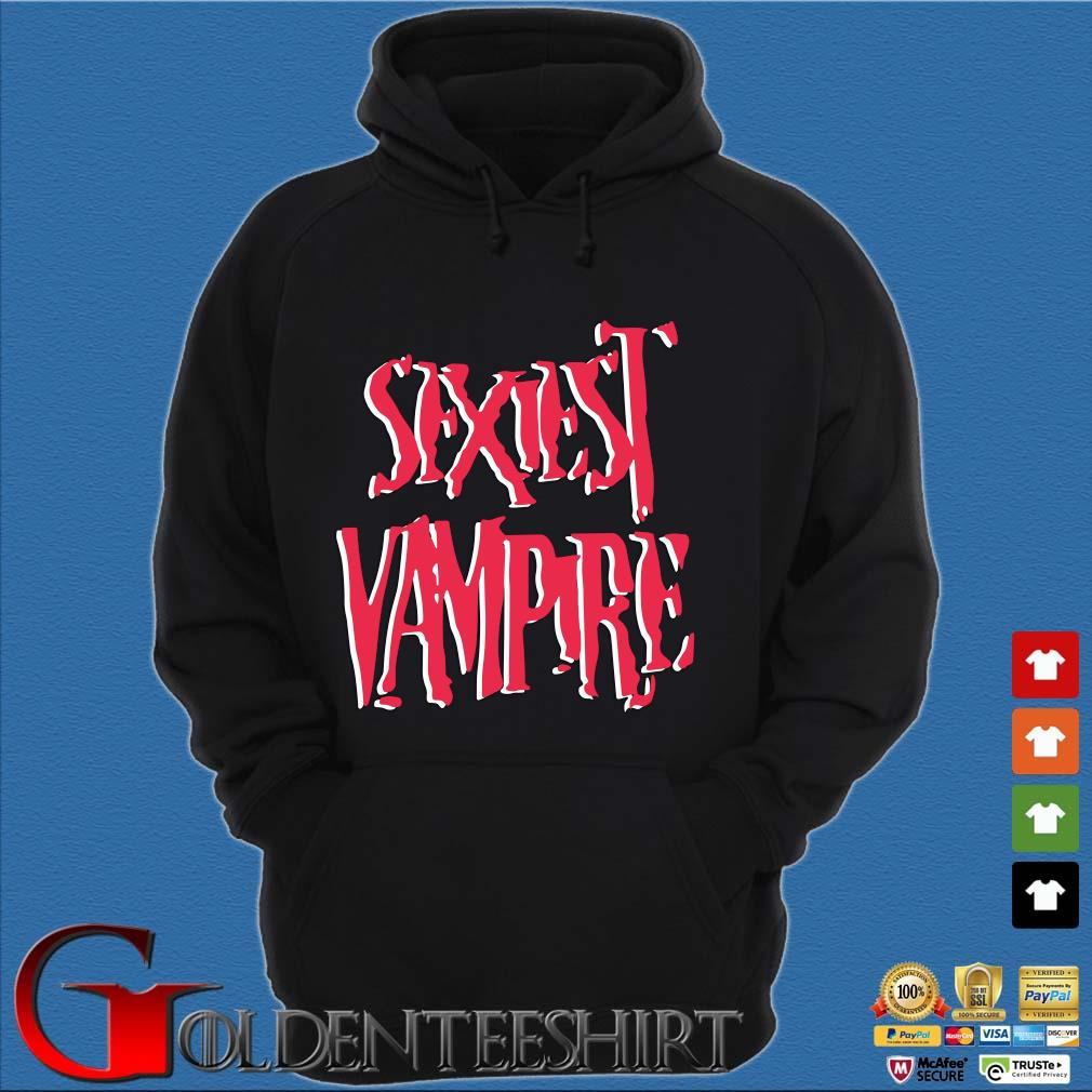 Sexiest vampire s Hoodie đen