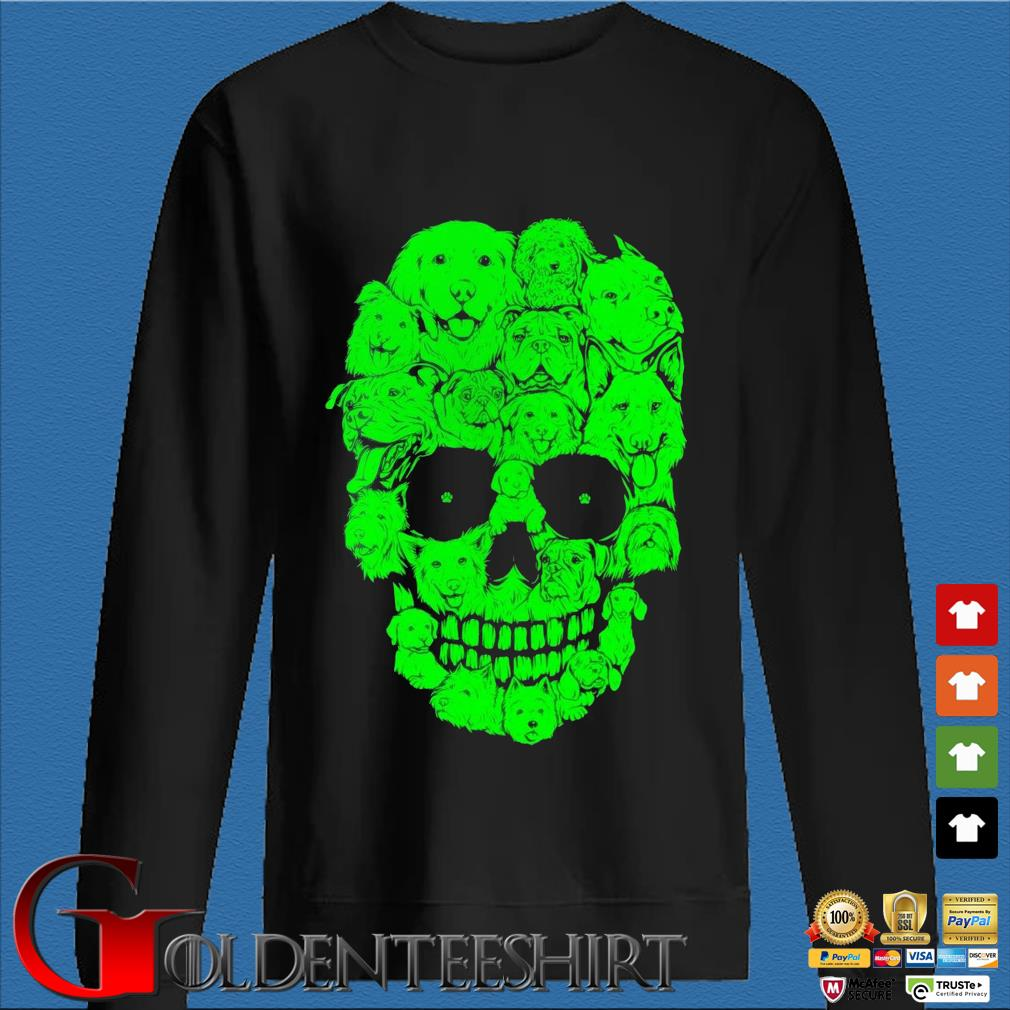 Skull dogs Halloween s Den Sweater