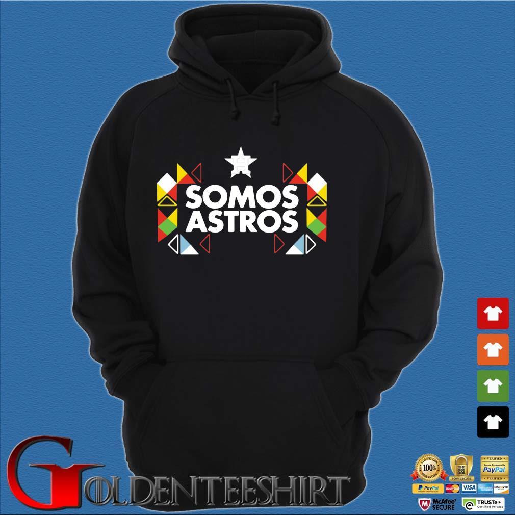Somos Astros Shirt Hoodie đen