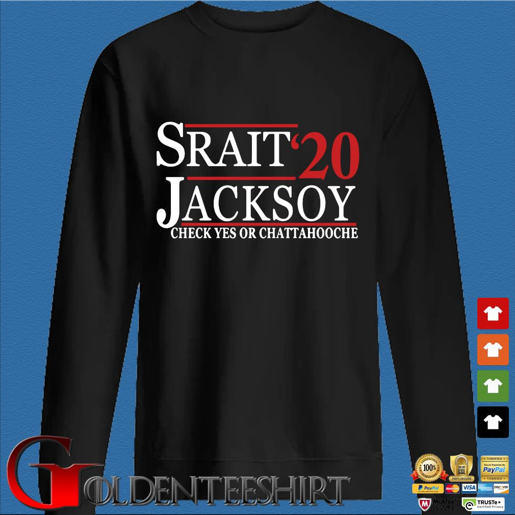 Srait Jacksoy '20 check yes or chattahooche s Den Sweater
