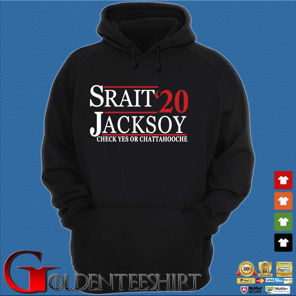 Srait Jacksoy '20 check yes or chattahooche s Hoodie đen