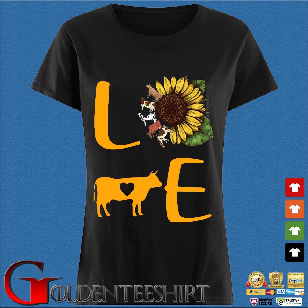 Sunflower Cow love s Den Ladies