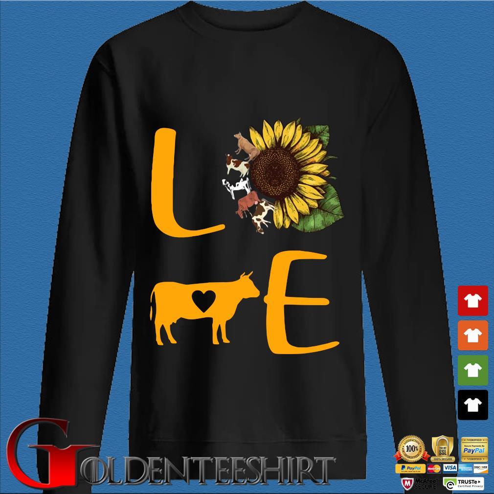Sunflower Cow love s Den Sweater