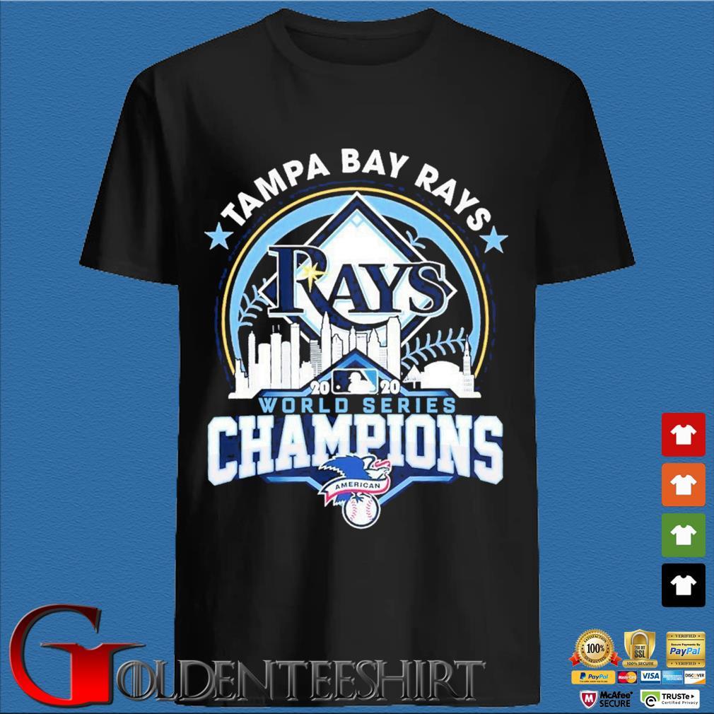 Tampa Bay Rays 2020 world series Champions shirt