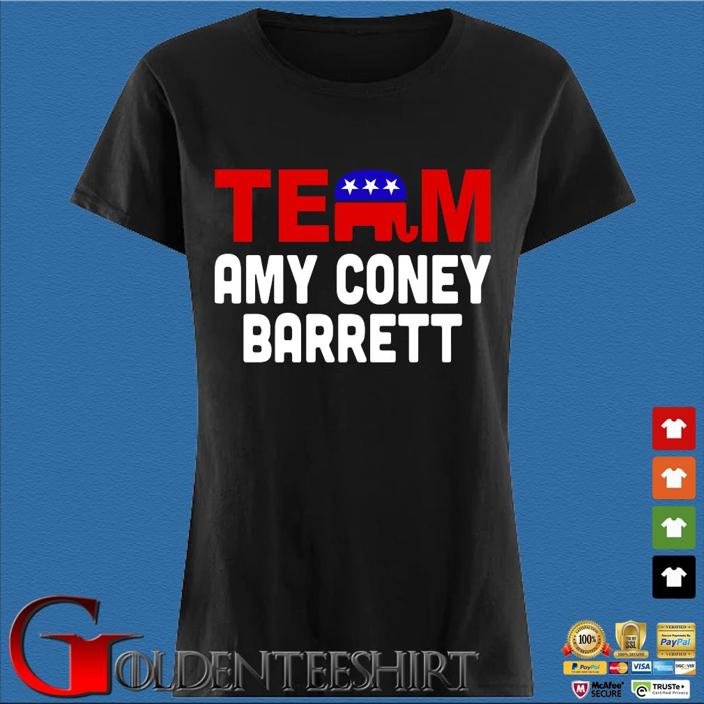 Team Amy Coney For SCOTUS 2020 Amy Barrett Fill That Seat T-Shirt Den Ladies
