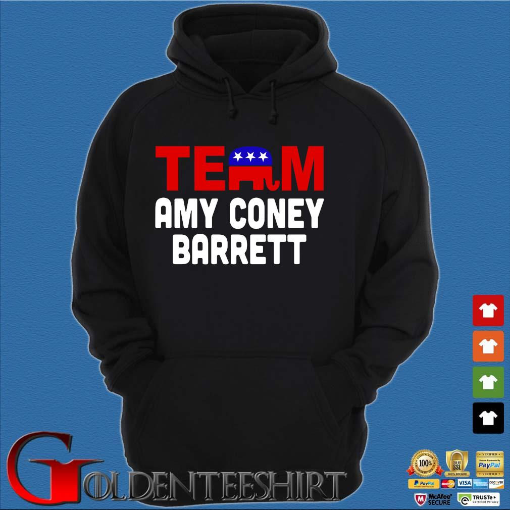 Team Amy Coney For SCOTUS 2020 Amy Barrett Fill That Seat T-Shirt Hoodie đen