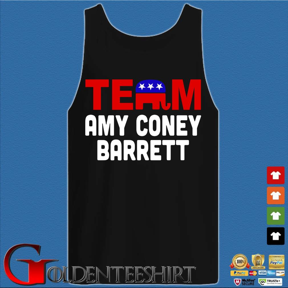 Team Amy Coney For SCOTUS 2020 Amy Barrett Fill That Seat T-Shirt Tank top den