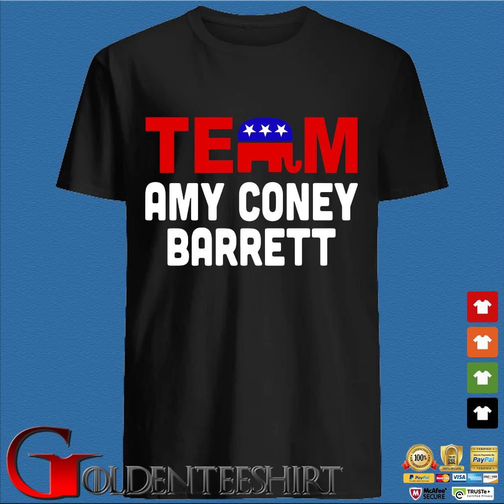 Team Amy Coney For SCOTUS 2020 Amy Barrett Fill That Seat T-Shirt