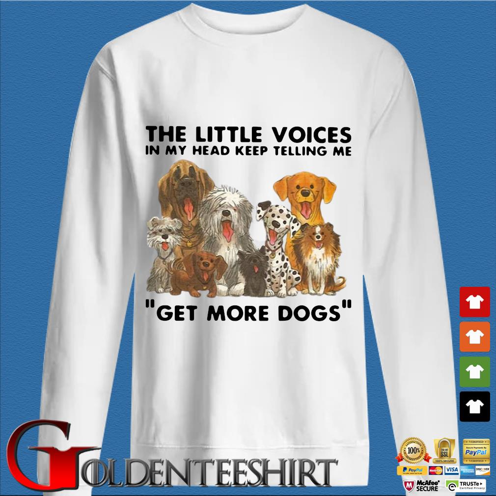 The little voices in my head keep telling Me get more Dogs s trang Sweater