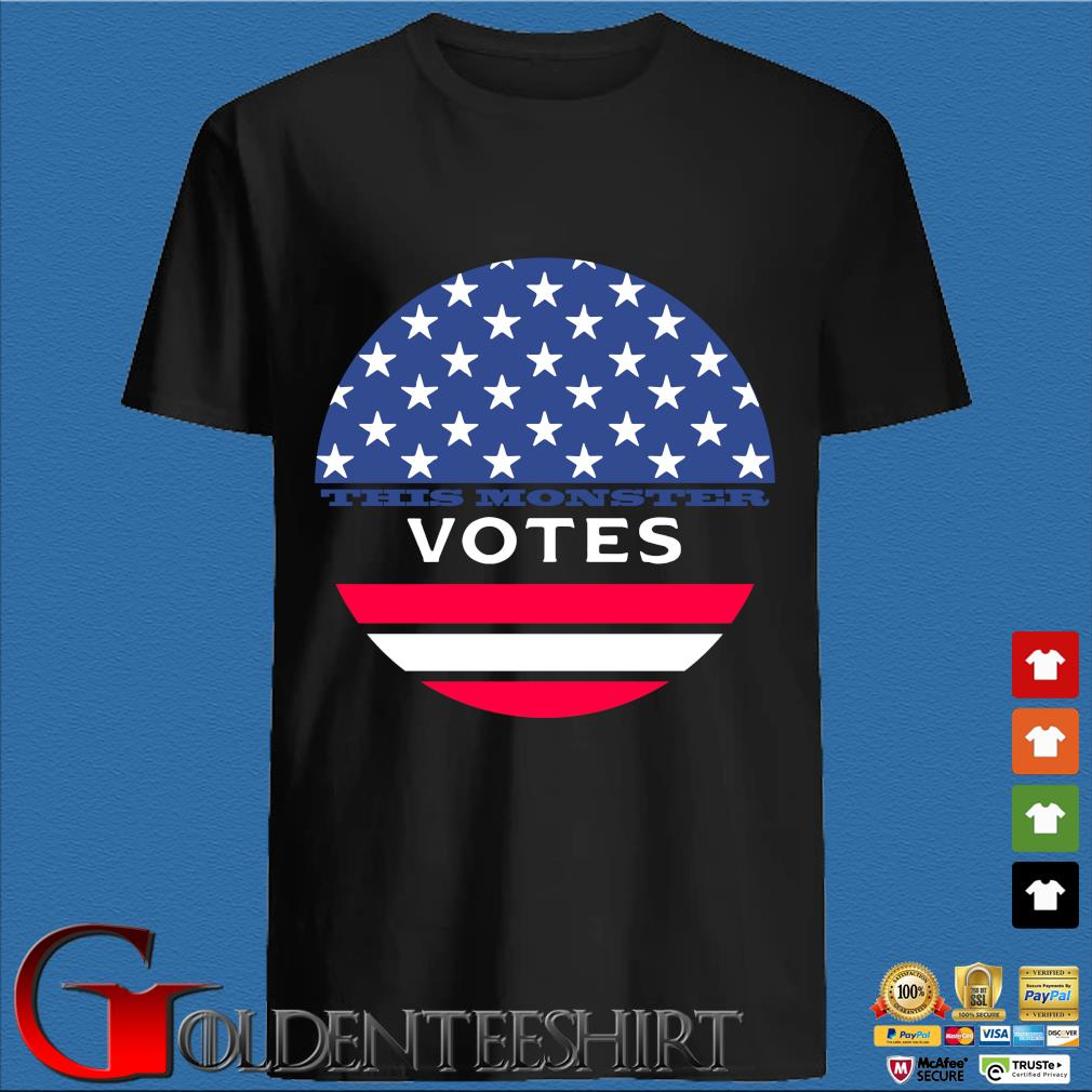 This Monster Votes American Flag Shirt