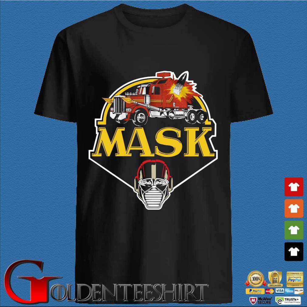 Trucker mask shirt