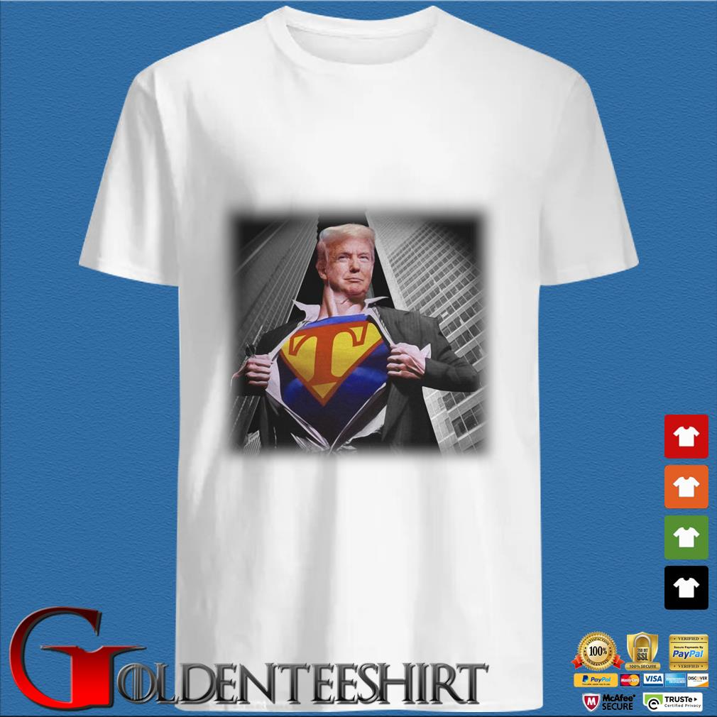 Trump Wanted To Wear Superman Shirt