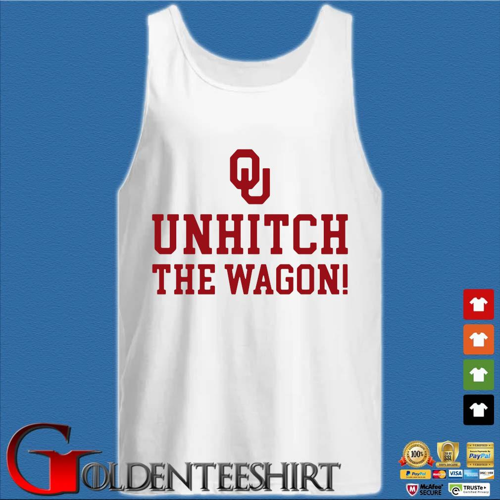 Unhitch The Wagon Shirt Tank top trắng