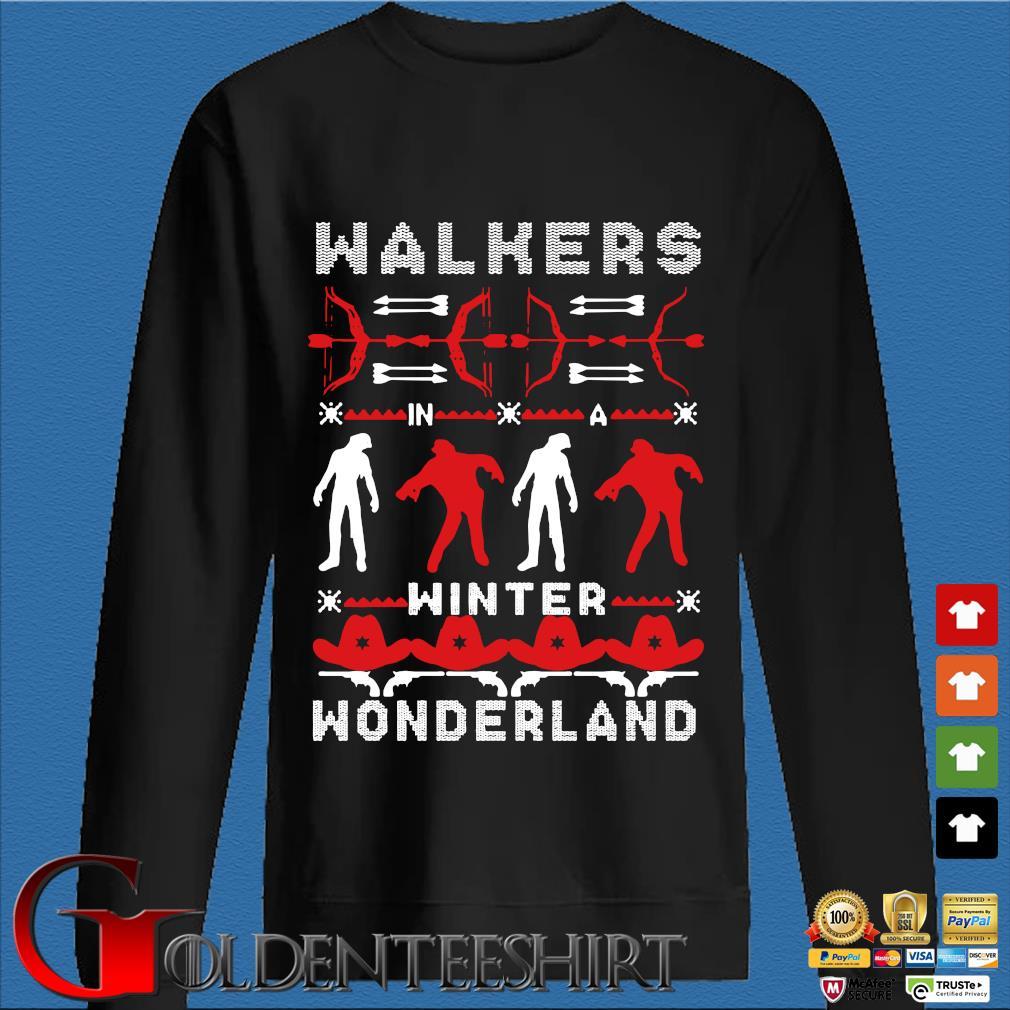 Walking Dead Walkers winter wonderland Ugly Christmas sweater Den Sweater