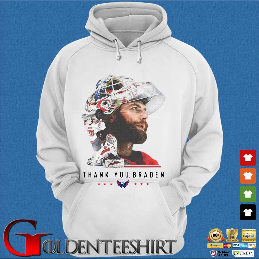 Washington Capitals thank You Braden Holtby Shirt Trang Hoodie
