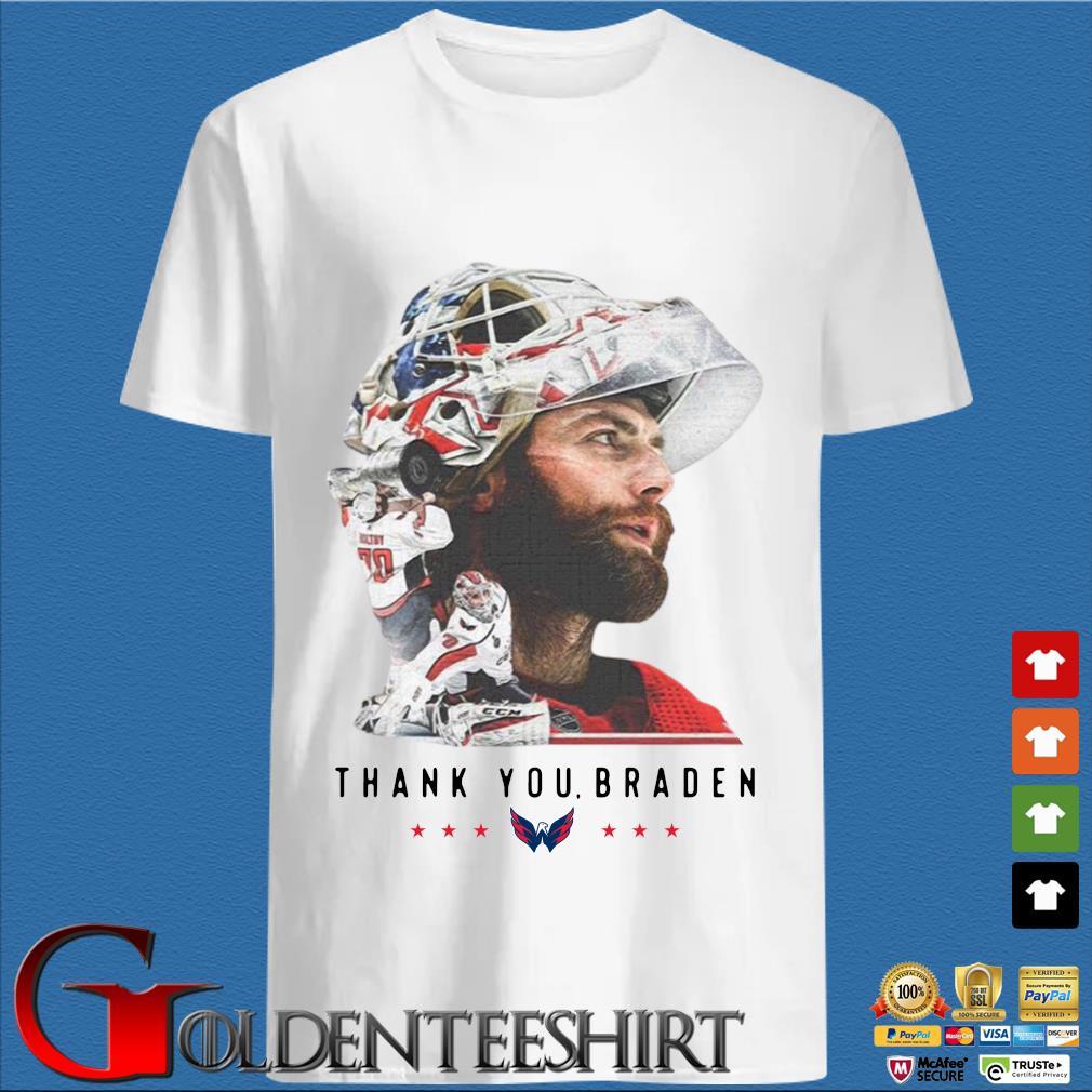 Washington Capitals thank You Braden Holtby Shirt