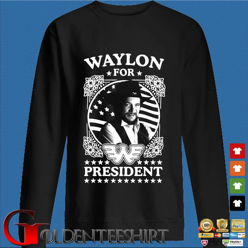 Waylon for president s Den Sweater