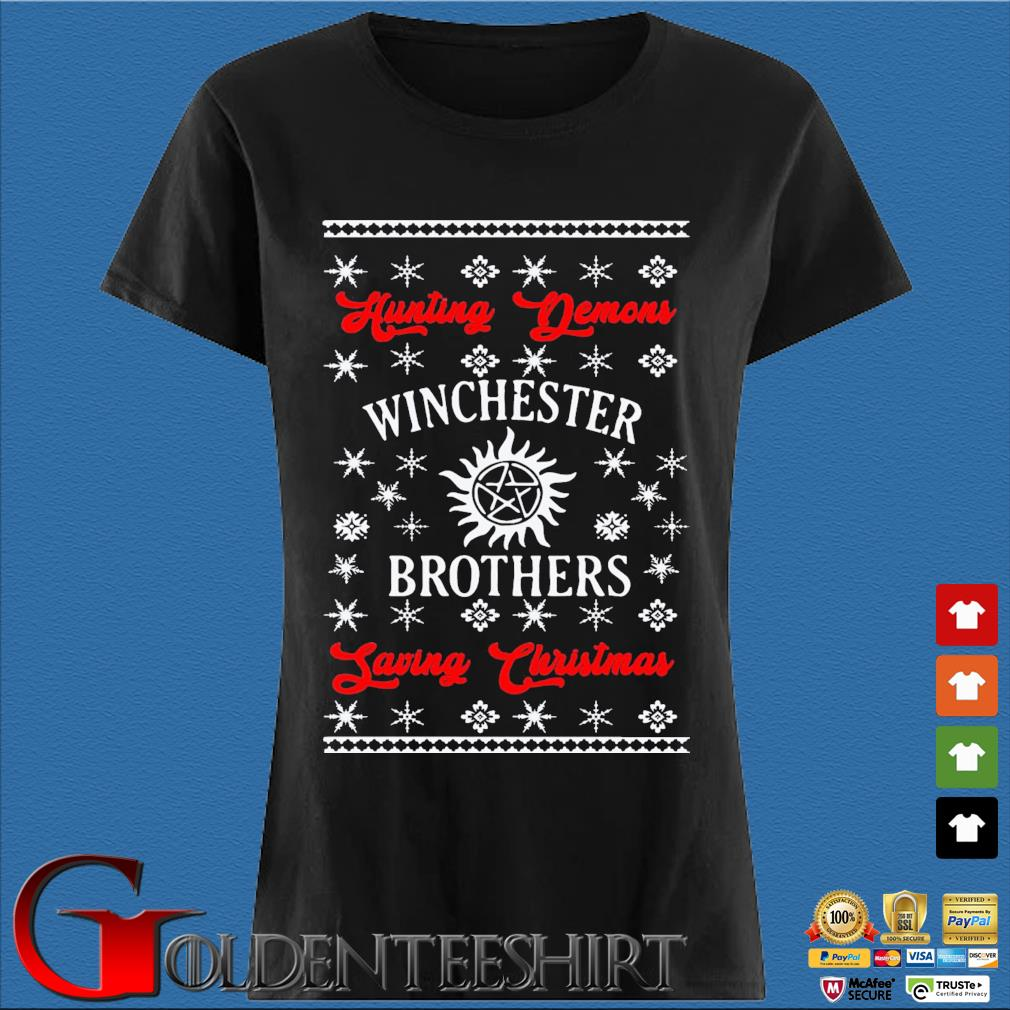 Winchester Brothers Ugly Christmas Sweats Den Ladies