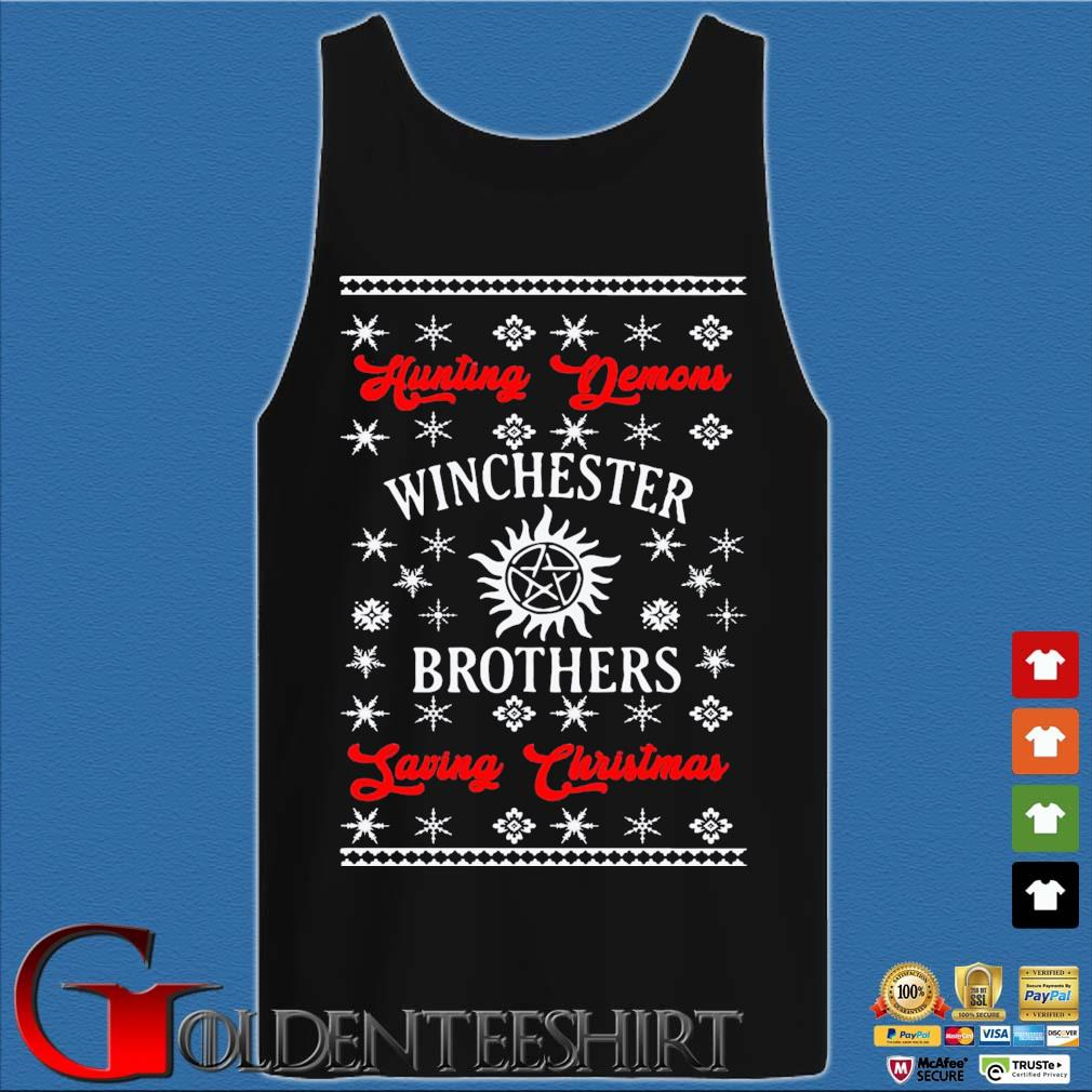 Winchester Brothers Ugly Christmas Sweats Tank top den
