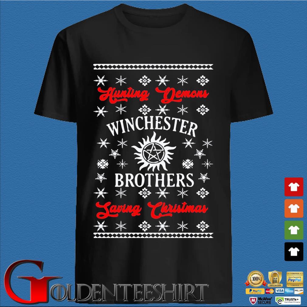 Winchester Brothers Ugly Christmas Sweatshirt