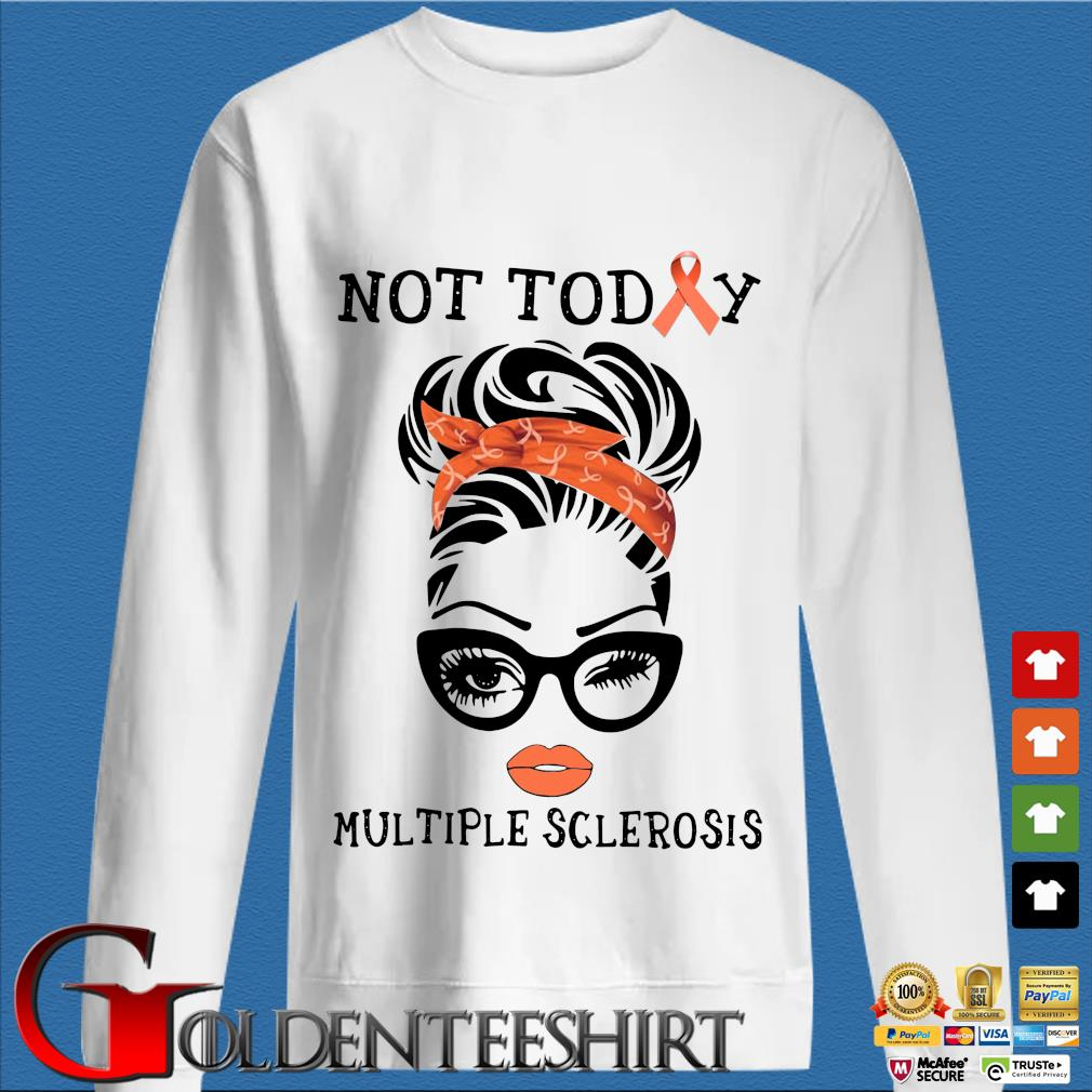 Woman not today multiple sclerosis s trang Sweater