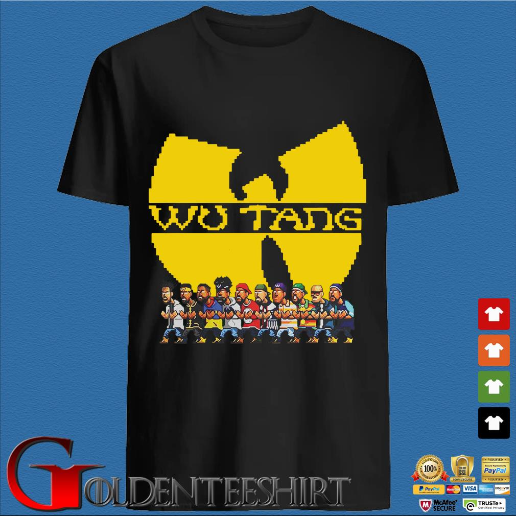 Wu Tang Clan chibi members shirt