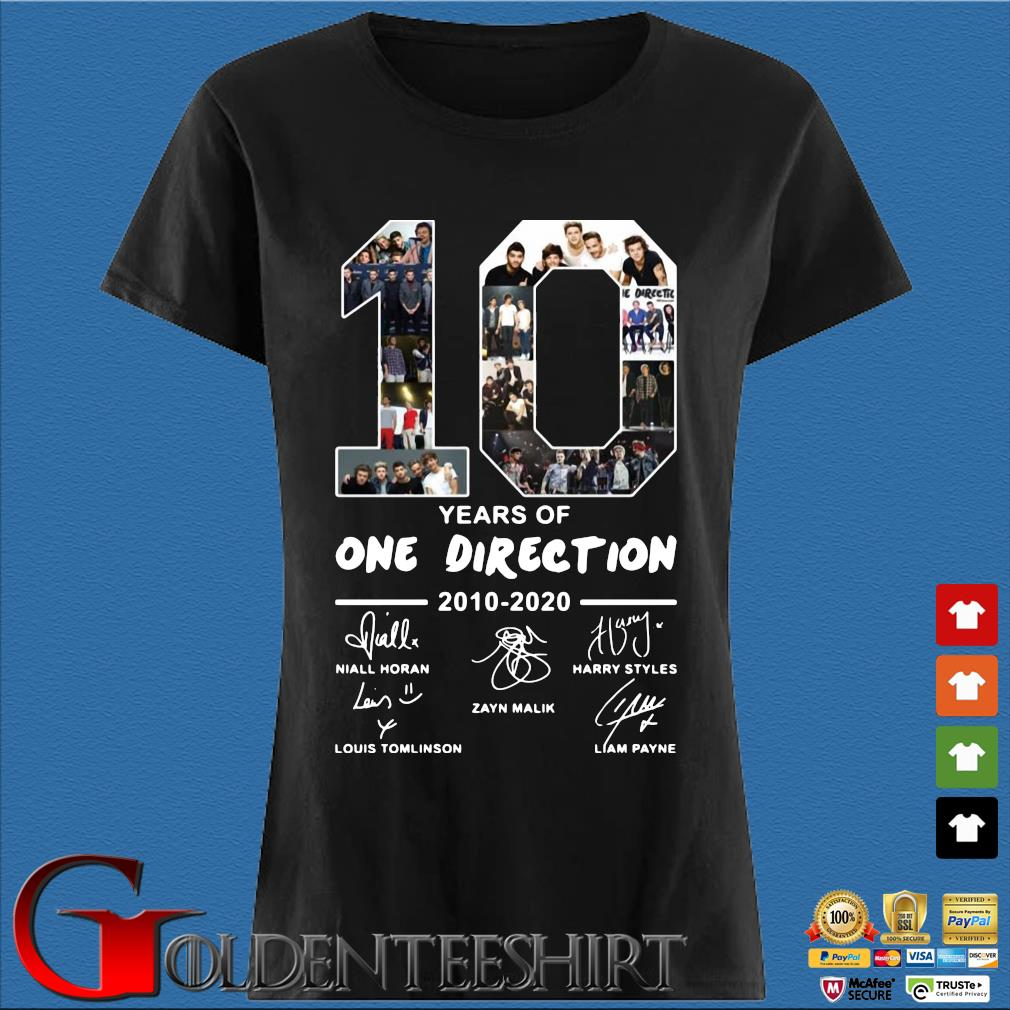 10 years of one direction 2010 2020 signatures s Den Ladies