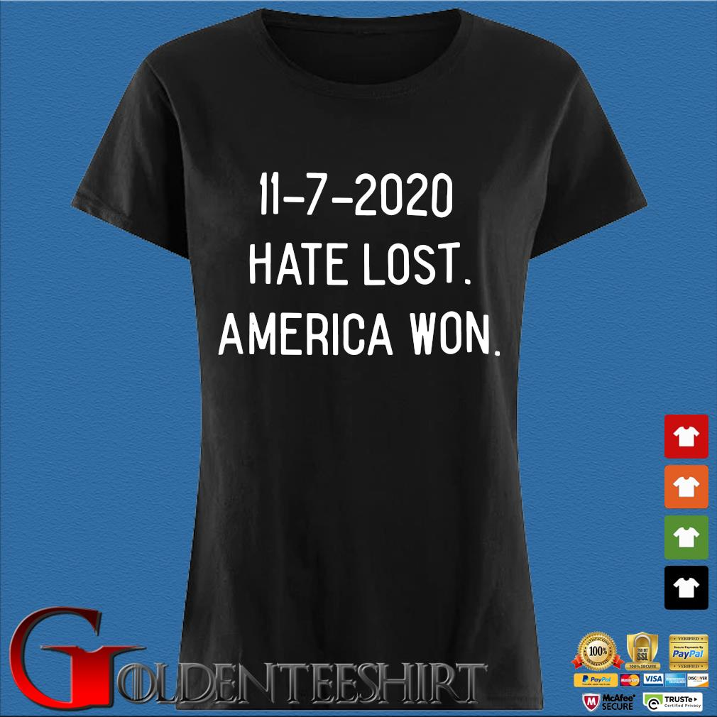 11-7-2020 hate lost America won s Den Ladies
