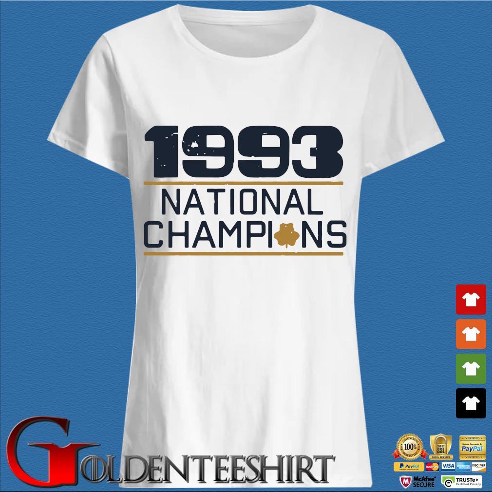 1993 national Champions s Trang Ladies