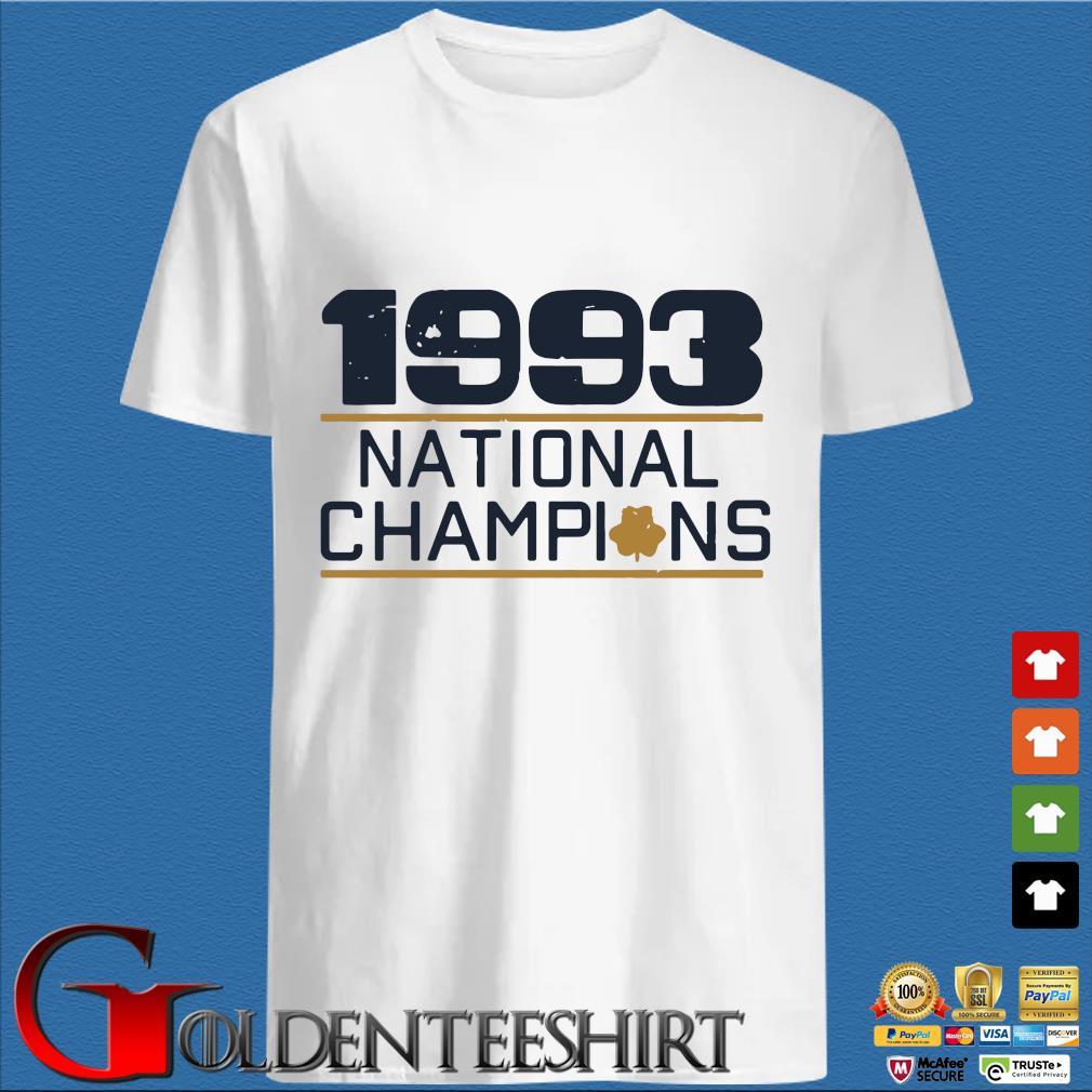 1993 national Champions s trang Shirt