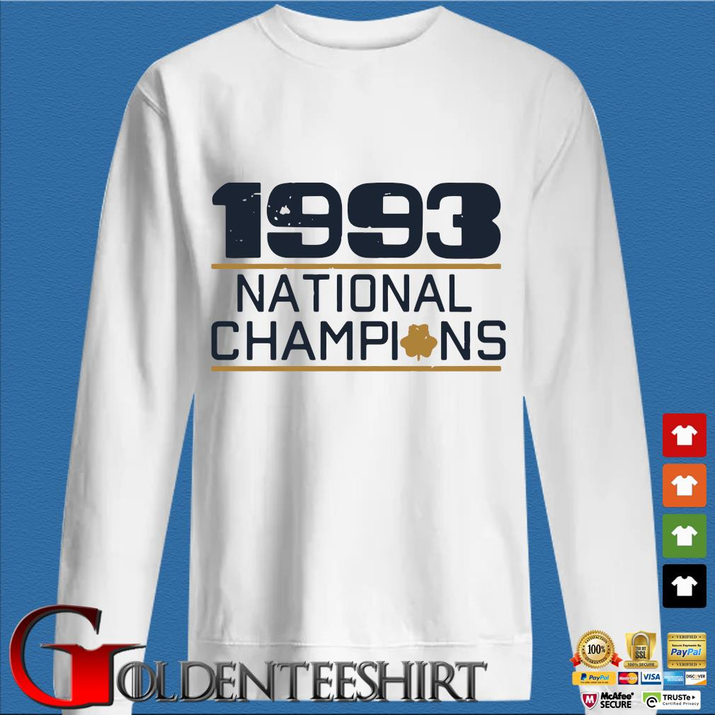 1993 national Champions shirt