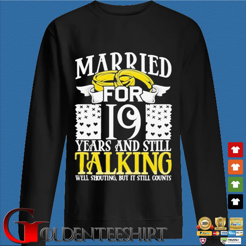 19th Wedding Anniversary for Wife Her Marriage Shirts