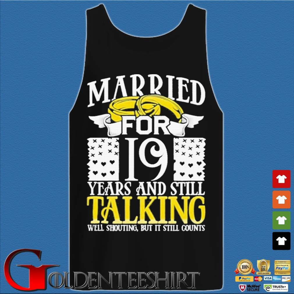 19th Wedding Anniversary for Wife Her Marriage Shirts Tank top den