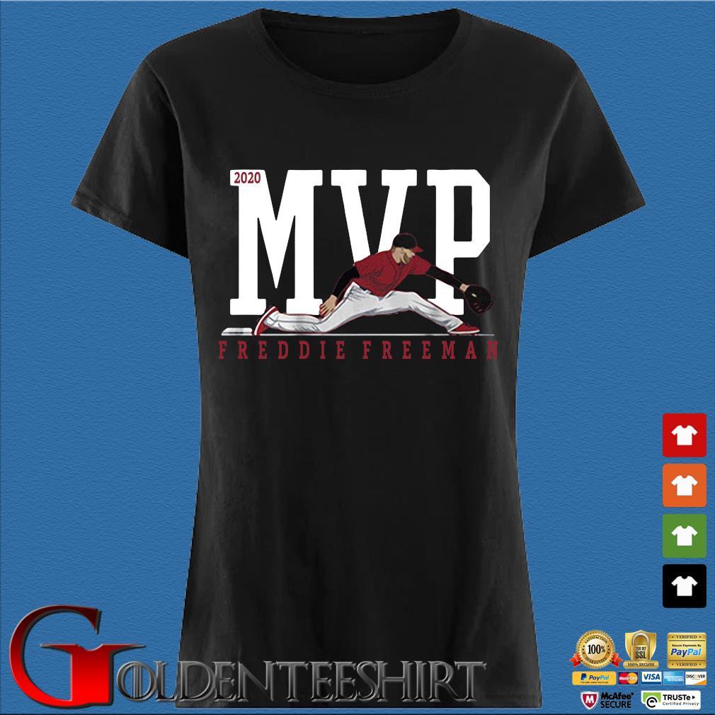 2020 MVP Freddie Freeman Shirt Den Ladies